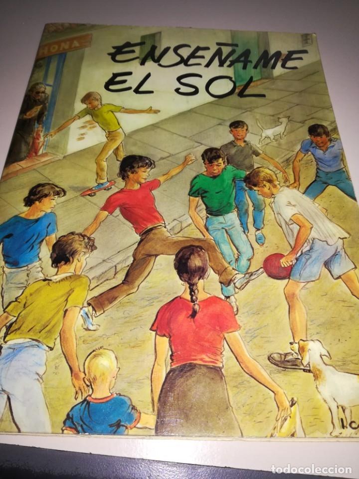 ENSEÑAME EL SOL DE CARLOS GALLEGO BRIZUELA, EDIT. GÉNESIS 1979 1º PREMIO ASPRONA REF GAR 99 (Libros Antiguos, Raros y Curiosos - Literatura Infantil y Juvenil - Novela)