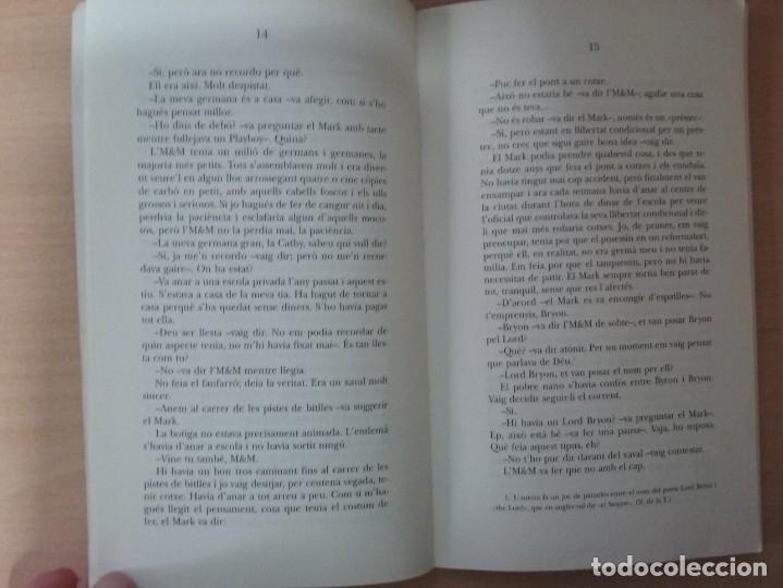 Libros antiguos: AIXÒ ÉS UNA ALTRA HISTÒRIA - SUSAN E. HINTON (ED. ALFAGUARA) - Foto 4 - 218658395
