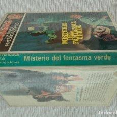 Libros antiguos: ALFRED HITCHCOCK Y LOS TRES INVESTIGADORES. MISTERIO DEL FANTASMA VERDE. MOLINO 1968.. Lote 181719810