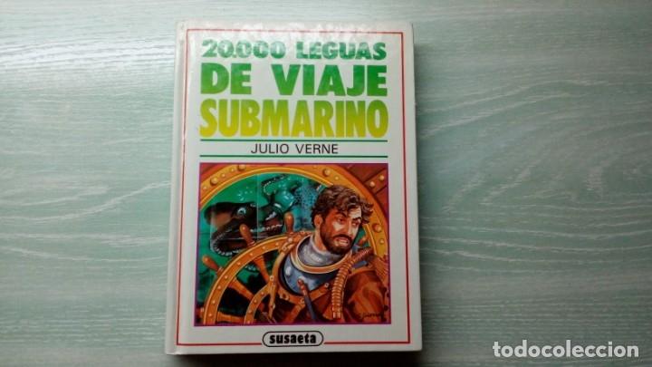 20.000 LEGUAS DE VIAJE SUBMARINO DE JULIO VERNE (Libros Antiguos, Raros y Curiosos - Literatura Infantil y Juvenil - Novela)