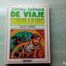 Libros antiguos: 20.000 LEGUAS DE VIAJE SUBMARINO DE JULIO VERNE. Lote 182029347