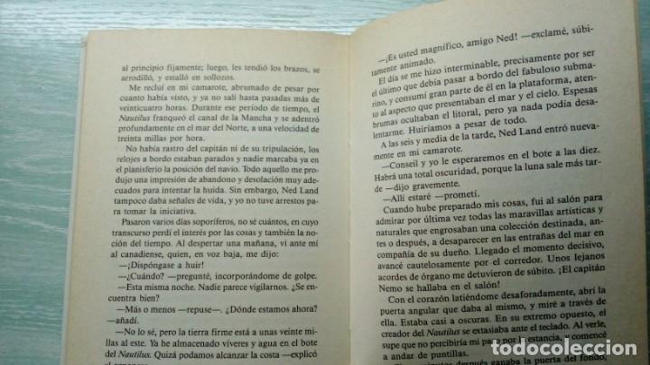 Libros antiguos: 20.000 Leguas de Viaje Submarino de Julio Verne - Foto 3 - 182029347