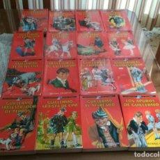 Libros antiguos: LOTE 16 LIBROS LAS AVENTURAS DE GUILLERMO DE RICHMAL CROMPTON. Lote 182309547