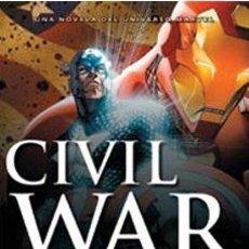 Libros antiguos: CIVIL WAR. UNA NOVELA DEL UNIVERSO MARVEL. Lote 182794607