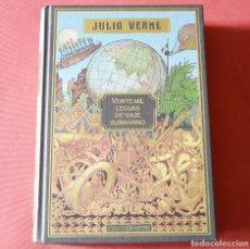 Libros antiguos: VEINTE MIL LEGUAS DE VIAJE SUBMARINO - JULIO VERNE - CON ILUSTRACIONES. Lote 183073843