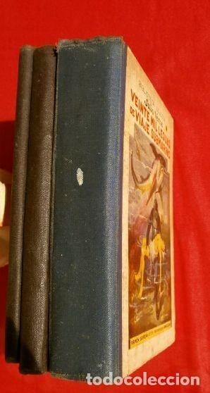 Libros antiguos: JULIO VERNE, 3 obras (1935) HECTOR SERVADAC, UNA INVERNADA.. LEGUAS VIAJE SUBMARINO, ED. R. SOPENA - Foto 4 - 183321438