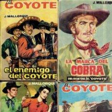 Libros antiguos: 14 NOVELAS DEL COYOTE BOLSILIBRO DE LOS AÑOS 1962. Lote 183893971