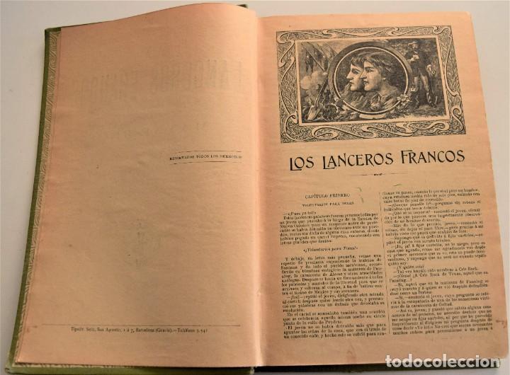 Libros antiguos: EN TIERRA Y EN MAR, AVENTURAS MARAVILLOSAS - OBRAS COMPLETAS DEL CAPITÁN MAYNE-REID - TOMO V - Foto 4 - 184021237