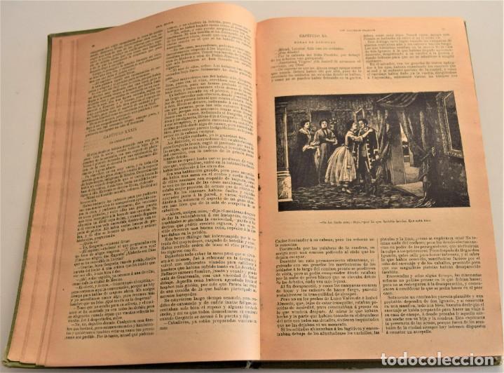 Libros antiguos: EN TIERRA Y EN MAR, AVENTURAS MARAVILLOSAS - OBRAS COMPLETAS DEL CAPITÁN MAYNE-REID - TOMO V - Foto 5 - 184021237