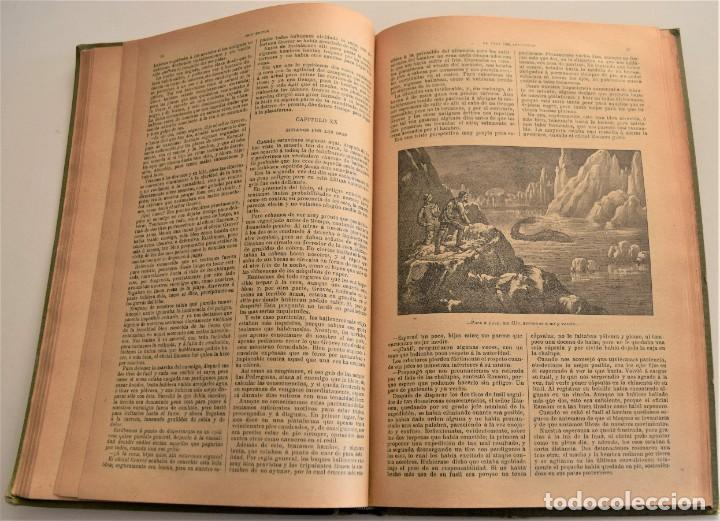 Libros antiguos: EN TIERRA Y EN MAR, AVENTURAS MARAVILLOSAS - OBRAS COMPLETAS DEL CAPITÁN MAYNE-REID - TOMO V - Foto 6 - 184021237