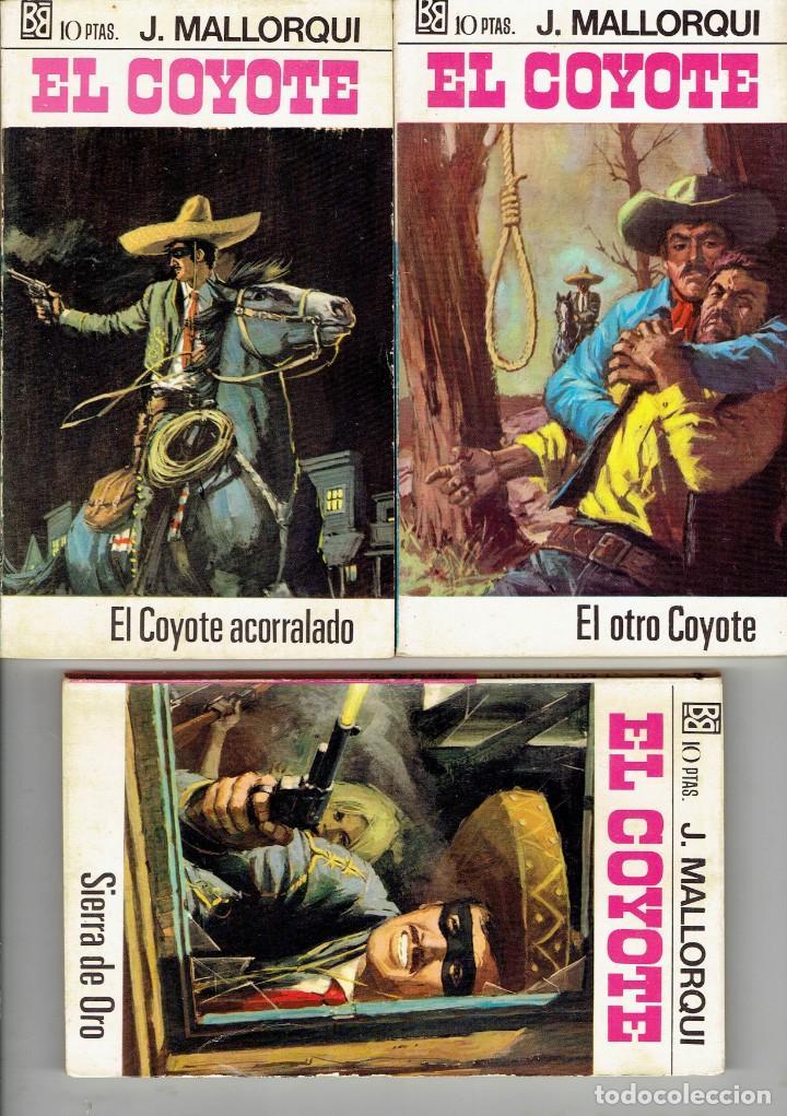 Libros antiguos: 83 NOVELAS DEL COYOTE EDITORIAL BURGUERA,1 EDICION MARZO 1970 A 2 EUROS LA UNIDAD - Foto 2 - 185681783