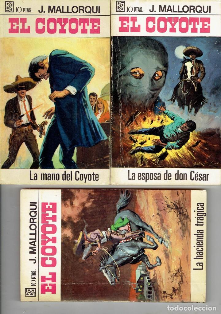 Libros antiguos: 83 NOVELAS DEL COYOTE EDITORIAL BURGUERA,1 EDICION MARZO 1970 A 2 EUROS LA UNIDAD - Foto 6 - 185681783