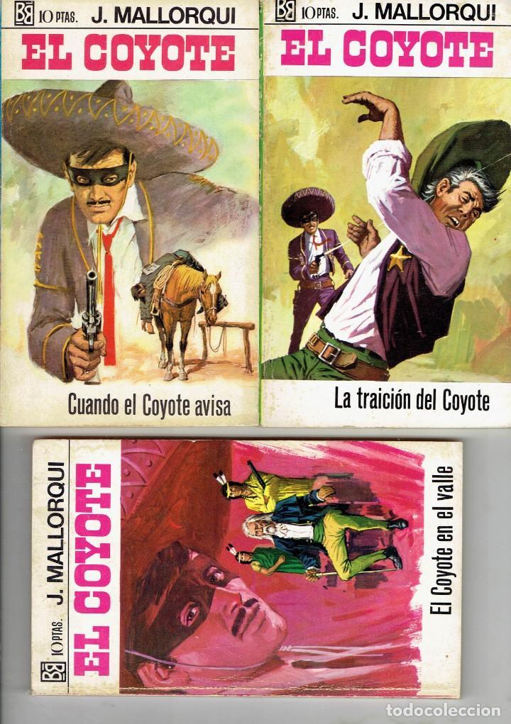 Libros antiguos: 83 NOVELAS DEL COYOTE EDITORIAL BURGUERA,1 EDICION MARZO 1970 A 2 EUROS LA UNIDAD - Foto 9 - 185681783