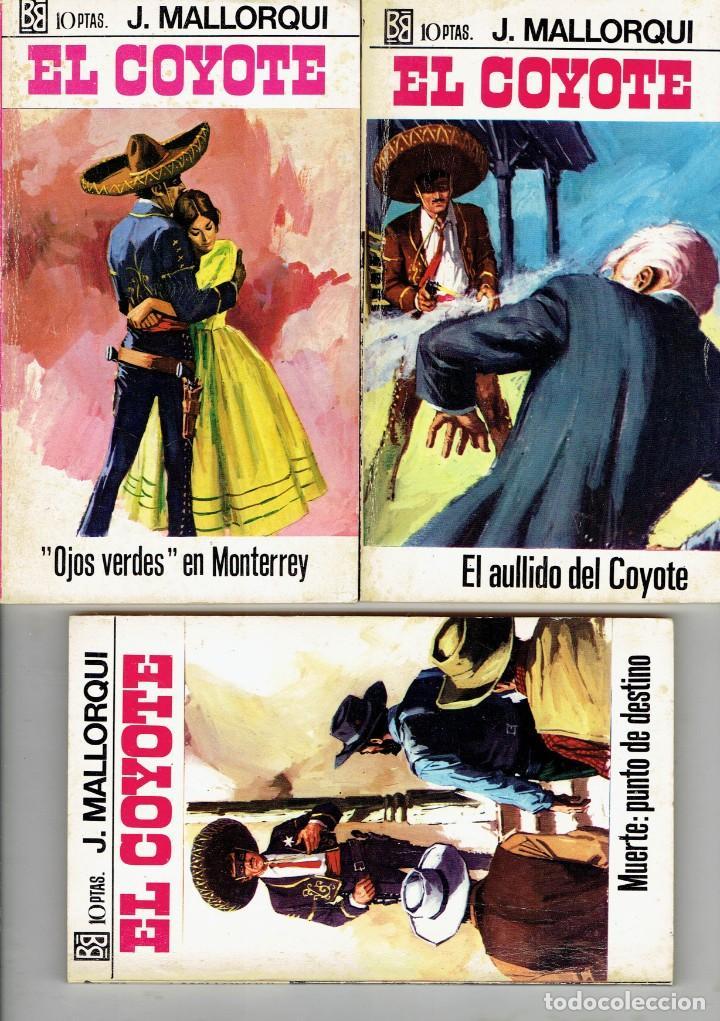 Libros antiguos: 83 NOVELAS DEL COYOTE EDITORIAL BURGUERA,1 EDICION MARZO 1970 A 2 EUROS LA UNIDAD - Foto 10 - 185681783