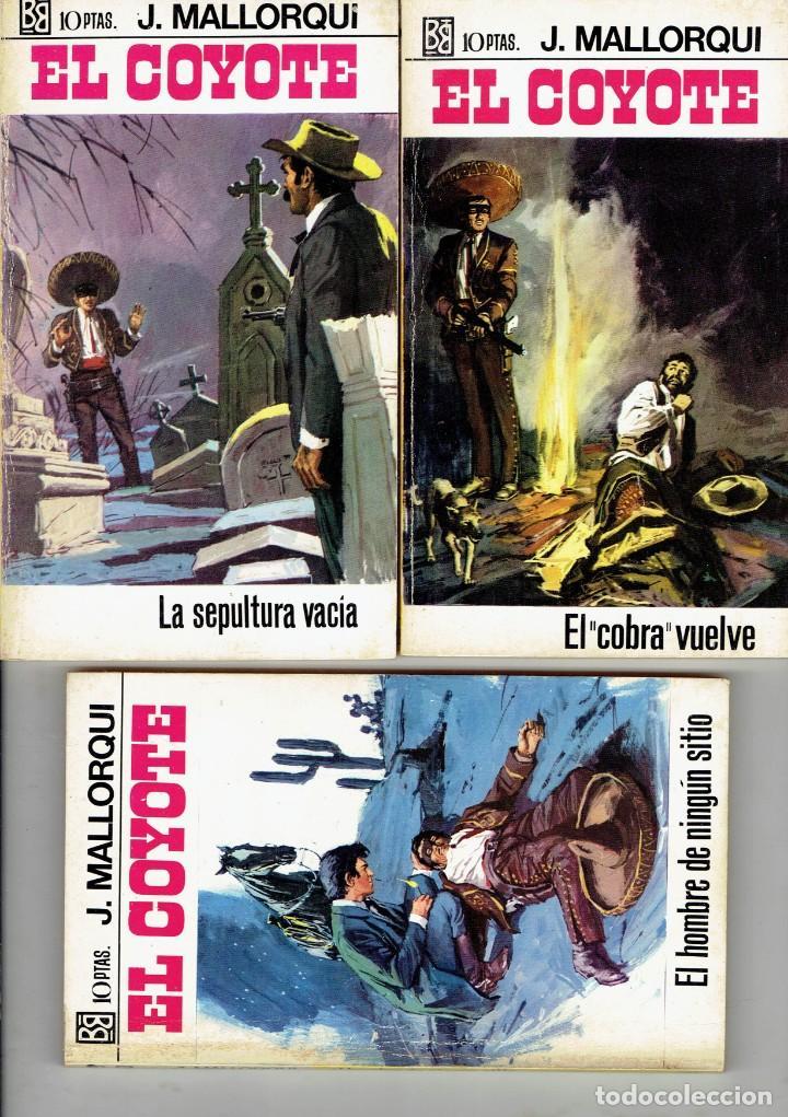 Libros antiguos: 83 NOVELAS DEL COYOTE EDITORIAL BURGUERA,1 EDICION MARZO 1970 A 2 EUROS LA UNIDAD - Foto 12 - 185681783