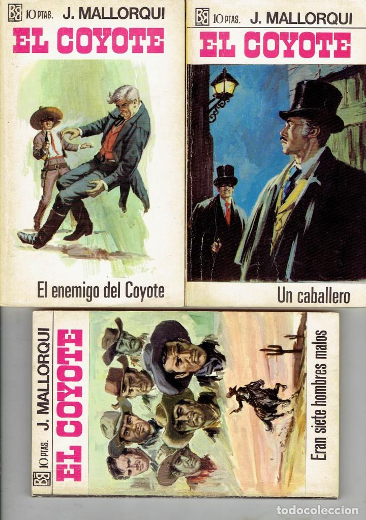 Libros antiguos: 83 NOVELAS DEL COYOTE EDITORIAL BURGUERA,1 EDICION MARZO 1970 A 2 EUROS LA UNIDAD - Foto 20 - 185681783