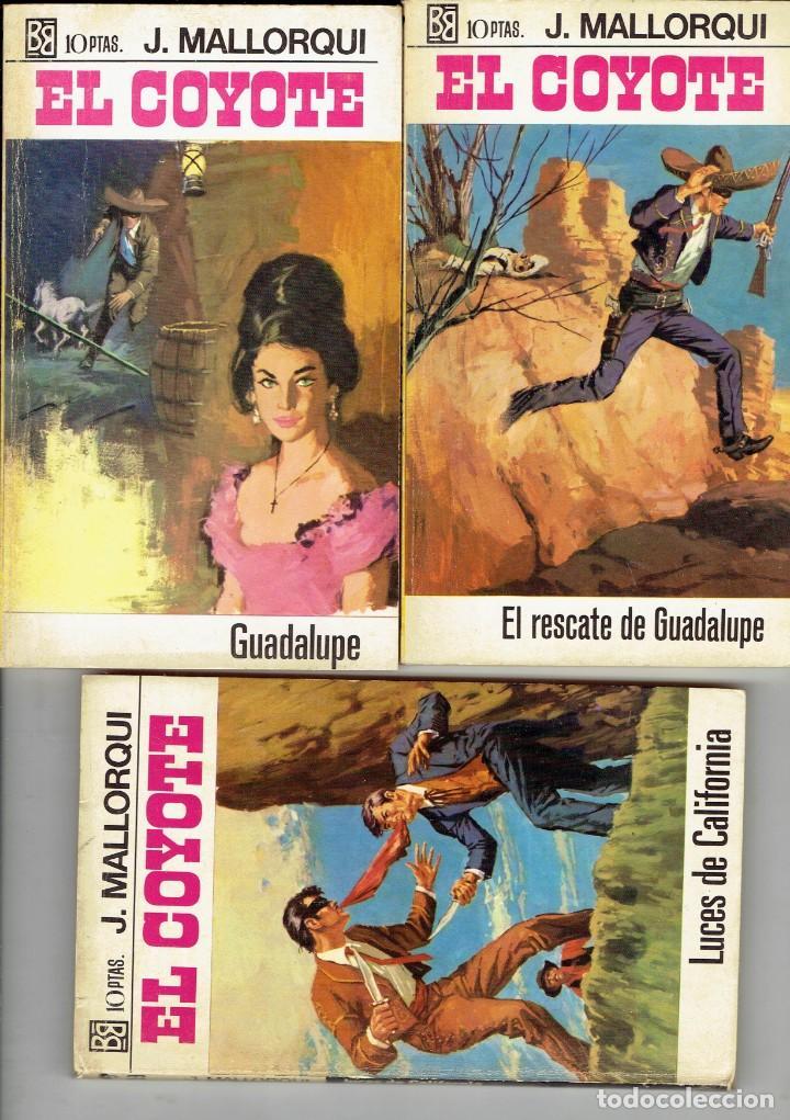 Libros antiguos: 83 NOVELAS DEL COYOTE EDITORIAL BURGUERA,1 EDICION MARZO 1970 A 2 EUROS LA UNIDAD - Foto 23 - 185681783