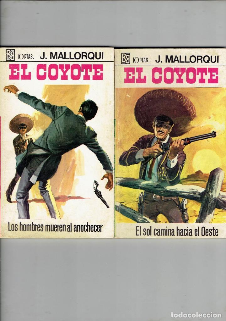 Libros antiguos: 83 NOVELAS DEL COYOTE EDITORIAL BURGUERA,1 EDICION MARZO 1970 A 2 EUROS LA UNIDAD - Foto 28 - 185681783