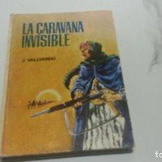Libros antiguos: LA CARAVANA INVISIBLE EN CATALÁN. Lote 186098722