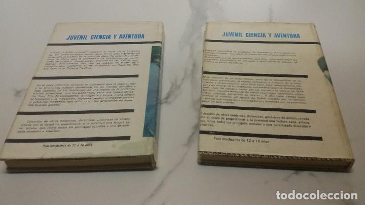Libros antiguos: Colección Juvenil ciencia y aventura - Foto 2 - 186099900