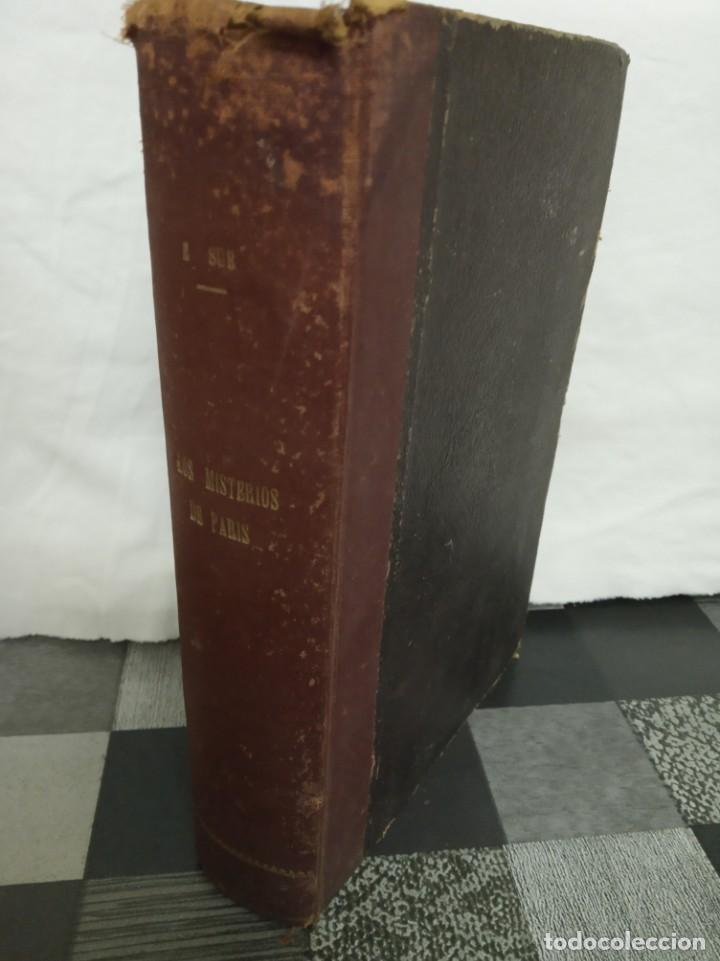 Libros antiguos: Los misterios de Paris ( Eugenio Sue ) Ramon Sopena 1931 - Foto 4 - 186230965