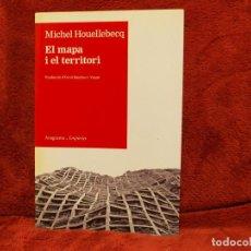 Libros antiguos: EL MAPA I EL TERRITORI MICHEL HOUELLEBECQ EMPÚRIES. Lote 187303283