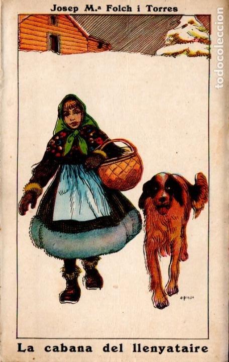 JOSEP Mª FOLCH I TORRES : LA CABANA DEL LLENYATAIRE (ELZEVIRIANA CAMÍ, 1924) (Libros Antiguos, Raros y Curiosos - Literatura Infantil y Juvenil - Novela)