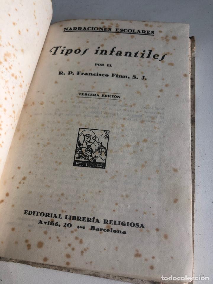 Libros antiguos: Tipos infantiles - Foto 2 - 187327302