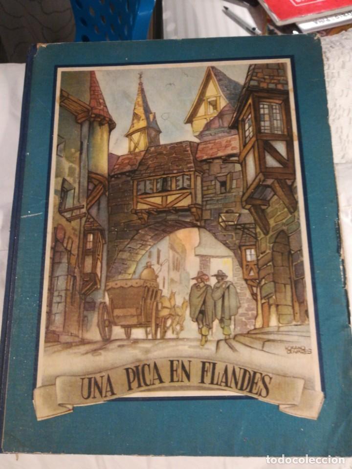 LIBRO UNA PICA EN FLANDES (Libros Antiguos, Raros y Curiosos - Literatura Infantil y Juvenil - Novela)