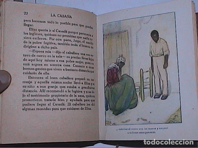 Libros antiguos: LA CABAÑA DEL TÍO TOMÁS.1914.ENRIQUETA BEECHER STOWE. EDITORIAL ARALUCE. BARCELONA. - Foto 3 - 188843906