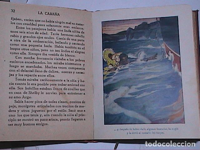 Libros antiguos: LA CABAÑA DEL TÍO TOMÁS.1914.ENRIQUETA BEECHER STOWE. EDITORIAL ARALUCE. BARCELONA. - Foto 4 - 188843906