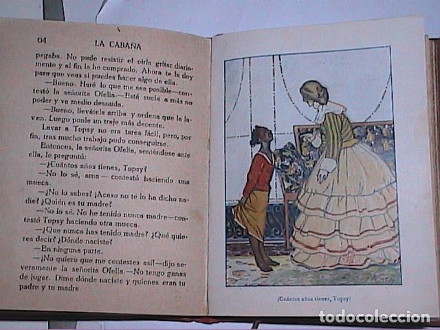 Libros antiguos: LA CABAÑA DEL TÍO TOMÁS.1914.ENRIQUETA BEECHER STOWE. EDITORIAL ARALUCE. BARCELONA. - Foto 5 - 188843906
