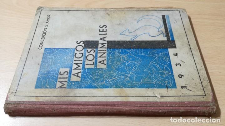 MIS AMIGOS LOS ANIMALES - CONCEPCION S AMOR - 1934 GRAFICA PREDILECTA CORNELLA / M102 (Libros Antiguos, Raros y Curiosos - Literatura Infantil y Juvenil - Novela)