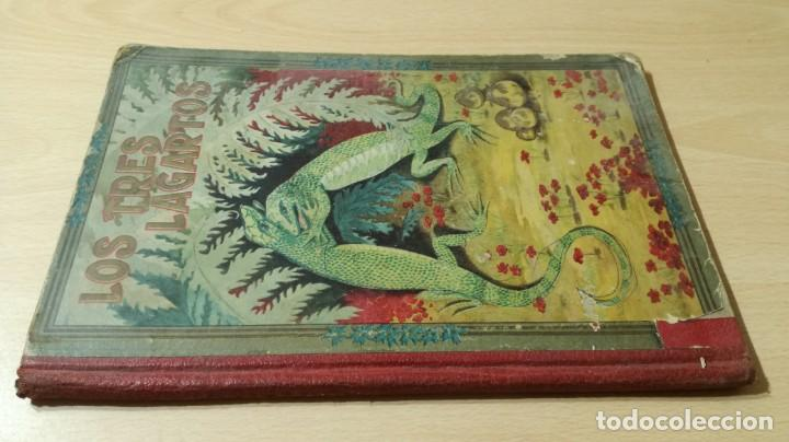 LOS TRES LAGARTOS - MANUEL MARINEL - LO DIBUJOS RICARDO OPISSO 1918 SUC BLAS CAMI BARCELONA / M102 (Libros Antiguos, Raros y Curiosos - Literatura Infantil y Juvenil - Novela)