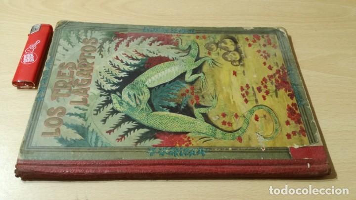 Libros antiguos: LOS TRES LAGARTOS - MANUEL MARINEL - LO DIBUJOS RICARDO OPISSO 1918 SUC BLAS CAMI BARCELONA / M102 - Foto 2 - 189460605