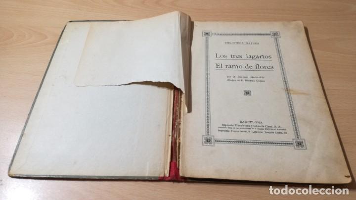Libros antiguos: LOS TRES LAGARTOS - MANUEL MARINEL - LO DIBUJOS RICARDO OPISSO 1918 SUC BLAS CAMI BARCELONA / M102 - Foto 7 - 189460605