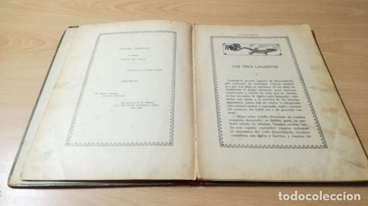Libros antiguos: LOS TRES LAGARTOS - MANUEL MARINEL - LO DIBUJOS RICARDO OPISSO 1918 SUC BLAS CAMI BARCELONA / M102 - Foto 9 - 189460605
