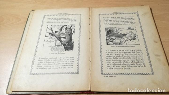 Libros antiguos: LOS TRES LAGARTOS - MANUEL MARINEL - LO DIBUJOS RICARDO OPISSO 1918 SUC BLAS CAMI BARCELONA / M102 - Foto 13 - 189460605