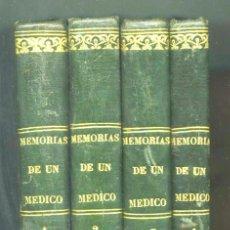 Libros antiguos: MEMORIAS DE UN MEDICO ALEJANDRO DUMAS VALENCIA : 1ª EDICIÓN, 1846-1848.. Lote 190481516