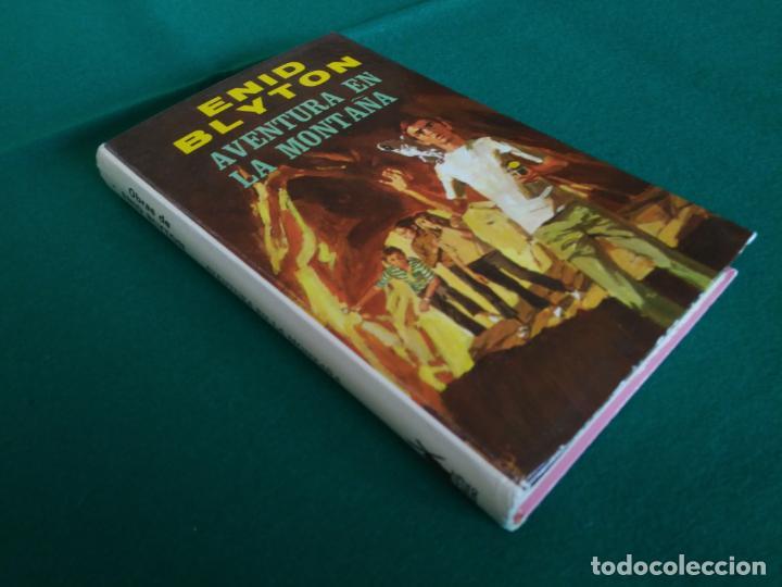 Libros antiguos: AVENTURA EN LA MONTAÑA - OBRAS DE ENID BLYTON EN COLOR Nº 5 - EDITORIAL MOLINO - AÑO 1972 - Foto 2 - 190531786