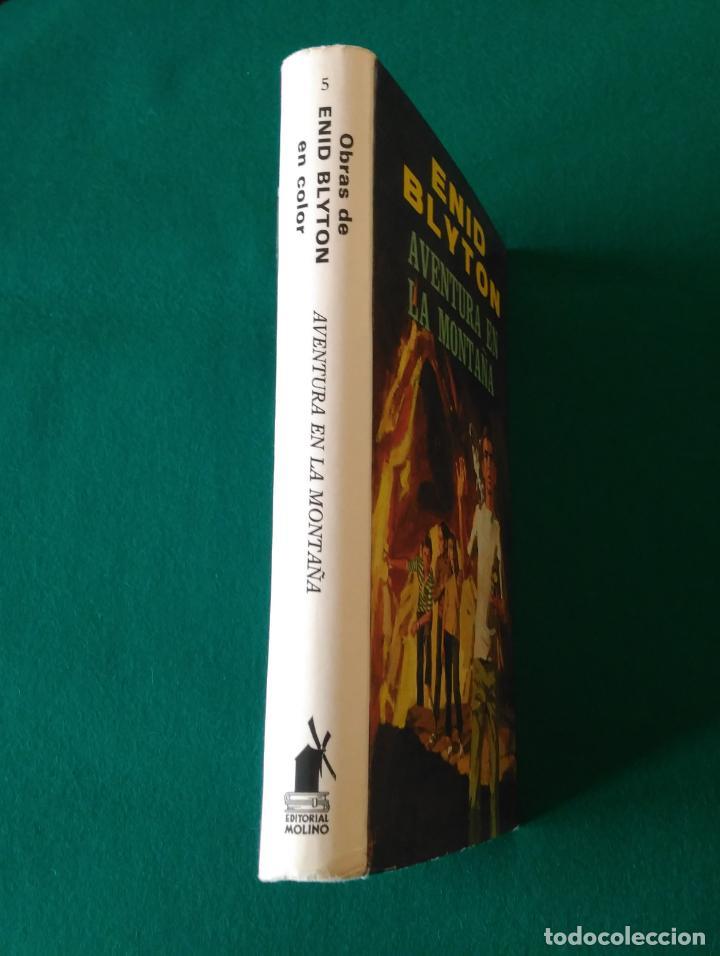 Libros antiguos: AVENTURA EN LA MONTAÑA - OBRAS DE ENID BLYTON EN COLOR Nº 5 - EDITORIAL MOLINO - AÑO 1972 - Foto 4 - 190531786