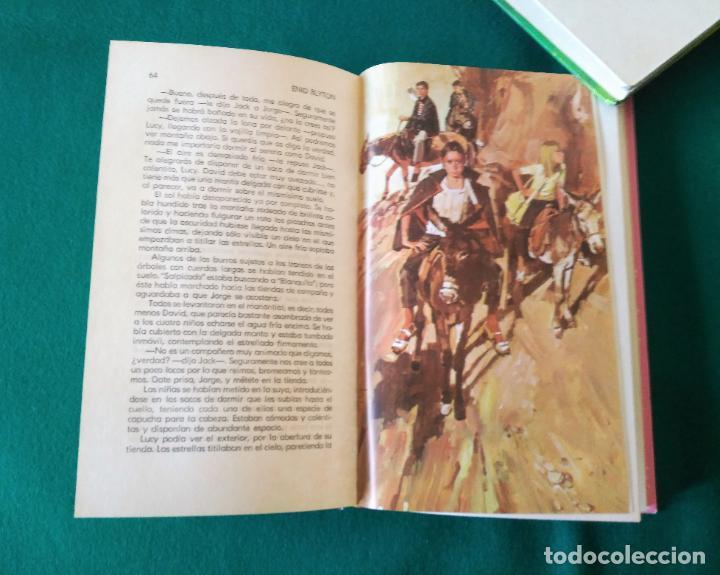 Libros antiguos: AVENTURA EN LA MONTAÑA - OBRAS DE ENID BLYTON EN COLOR Nº 5 - EDITORIAL MOLINO - AÑO 1972 - Foto 5 - 190531786