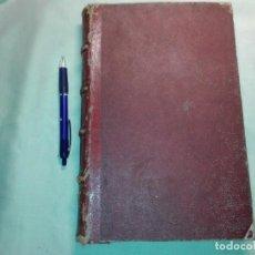 Libros antiguos: 2 LIBROS, OBRAS DE JULIO VERNE TOMO 1 Y 2, . Lote 192103088