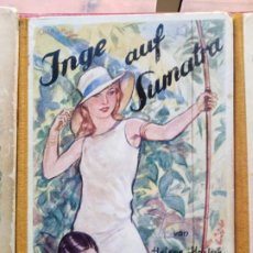 Libros antiguos: INGE AUF SUMATRA VON HELENE HARLYK FRANZ SCHNEIDER VERLAG. Lote 192130617