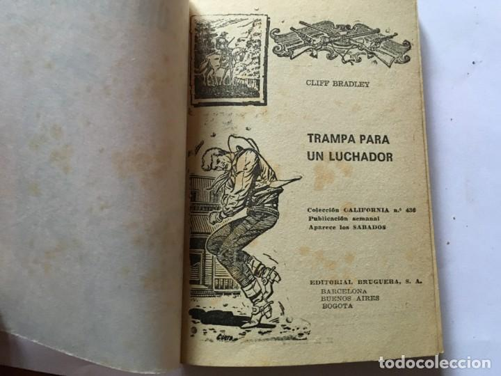 Libros antiguos: novela del oeste coleccion california lote 3 novelas nº 304-436-438 año 1962 y 1965 - Foto 3 - 193796716