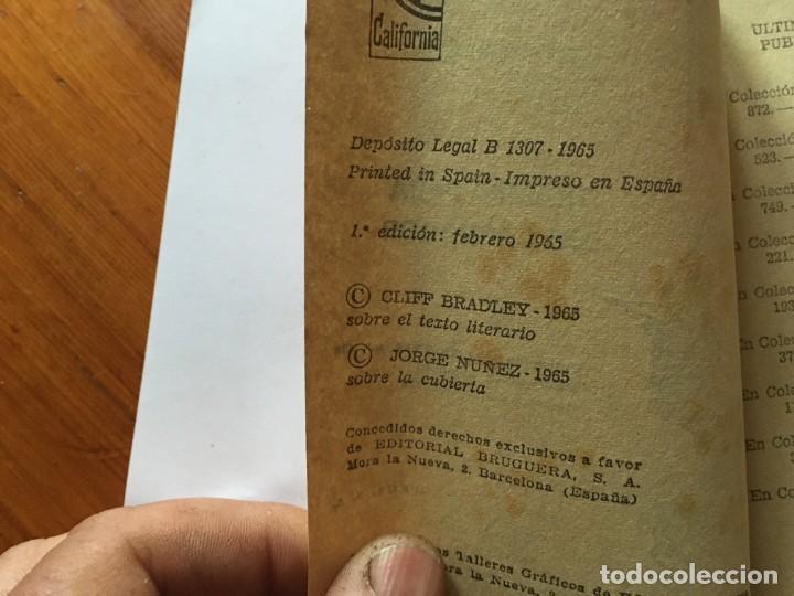Libros antiguos: novela del oeste coleccion california lote 3 novelas nº 304-436-438 año 1962 y 1965 - Foto 4 - 193796716
