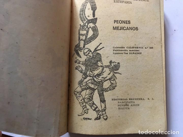 Libros antiguos: novela del oeste coleccion california lote 3 novelas nº 304-436-438 año 1962 y 1965 - Foto 5 - 193796716