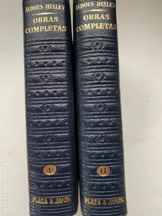 OBRA COMPLETA DE ALDOUS HUXLEY (Libros Antiguos, Raros y Curiosos - Literatura Infantil y Juvenil - Novela)