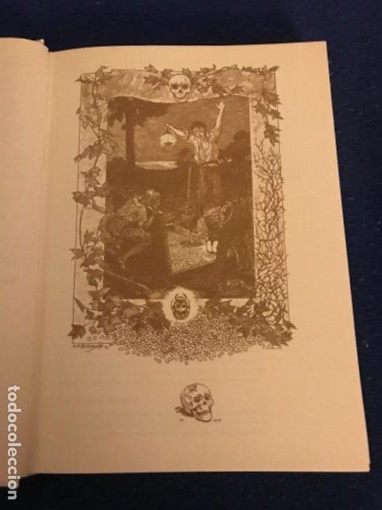 Libros antiguos: EL ESCARABAJO DE ORO. EDGAR ALLAN POE. COLECCIÓN TUS LIBROS. EDITORIAL ANAYA. 1ª ED. 1981. - Foto 4 - 193858205