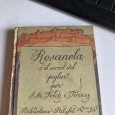 Libros antiguos: ROSANELA. Lote 193920068